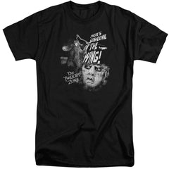 Twilight Zone Someone On The Wing Adult Tall Fit T-Shirt