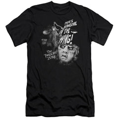 Twilight Zone - Someone On The Wing Adult Slim Fit T-Shirt