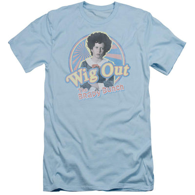 Brady Bunch Wig Out Men's Slim Fit T-Shirt