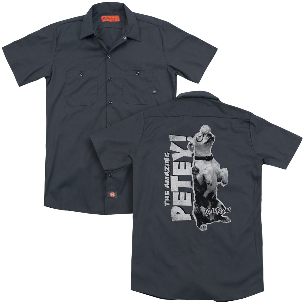 Little Rascals Amazing Petey Adult Work Shirt