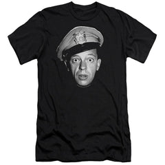 Andy Griffith Barney Head Premium Adult Slim Fit T-Shirt