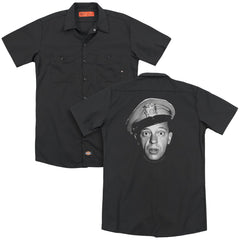 Andy Griffith Barney Head Adult Work Shirt