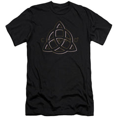 Charmed - Triple Linked Logo Adult Slim Fit T-Shirt
