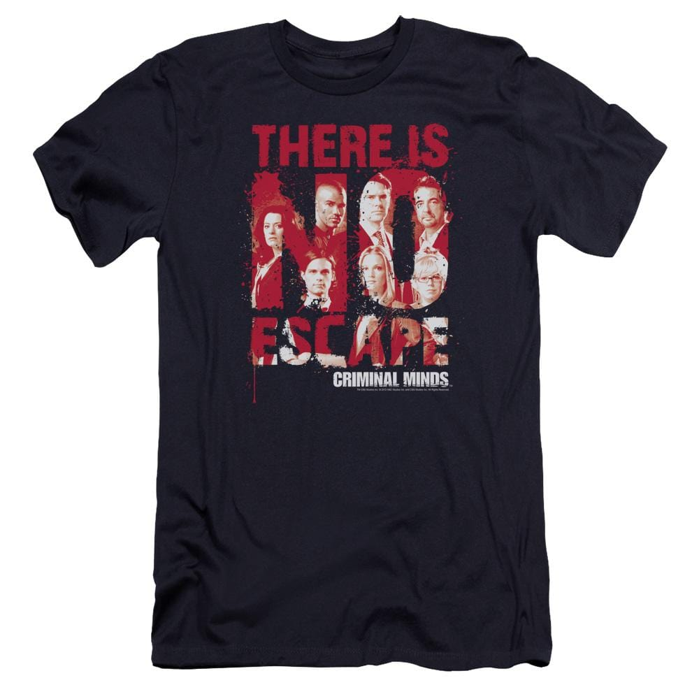 Criminal Minds No Escape Premium Adult Slim Fit T-Shirt
