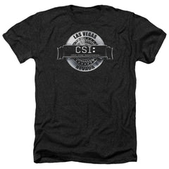 Csi Rendered Logo Adult Regular Fit Heather T-Shirt