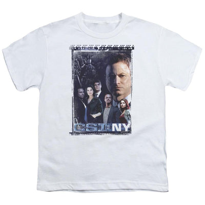 CSI: NY Watchful Eye Youth T-Shirt (Ages 8-12)