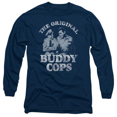 Andy Griffith Buddy Cops Men's Long Sleeve T-Shirt