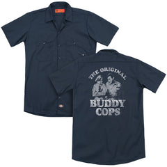 Andy Griffith Buddy Cops Adult Work Shirt
