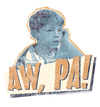 Andy Griffith Aw Pa Kid's T-Shirt (Ages 4-7)