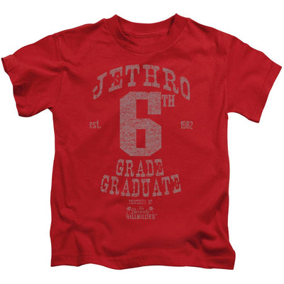Beverly Hillbillies Mr 6th Grade Grad Kid's T-Shirt (Ages 4-7)