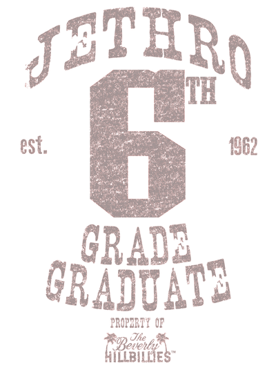 Beverly Hillbillies Mr 6th Grade Grad Youth T-Shirt (Ages 8-12)