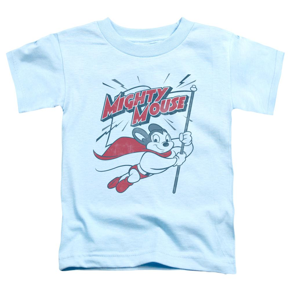 Mighty Mouse Mighty Flag Toddler T-Shirt