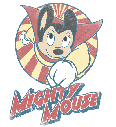 Mighty Mouse The One The Only Men's Slim Fit T-Shirt
