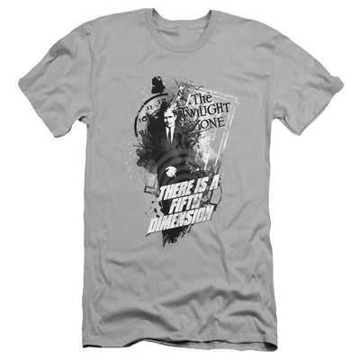 The Twilight Zone Fifth Dimension Men's Slim Fit T-Shirt