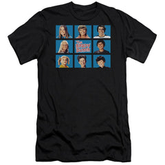 Brady Bunch Framed Premium Adult Slim Fit T-Shirt