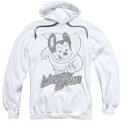 Mighty Mouse Mighty Sketch Pullover Hoodie