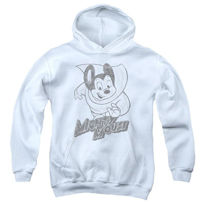 Mighty Mouse Mighty Sketch Youth Hoodie (Ages 8-12)