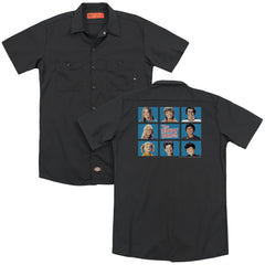 Brady Bunch Framed Adult Work Shirt