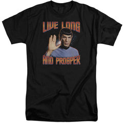 St Original Live Long And Prosper Adult Tall Fit T-Shirt