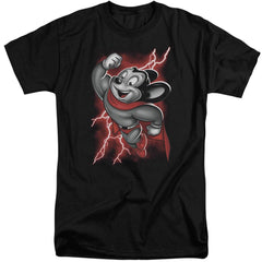 Mighty Mouse Mighty Storm Adult Tall Fit T-Shirt