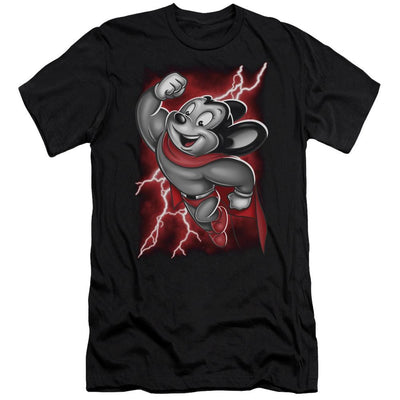 Mighty Mouse Mighty Storm Men's Premium Slim Fit T-Shirt