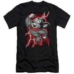 Mighty Mouse Mighty Storm Premium Adult Slim Fit T-Shirt