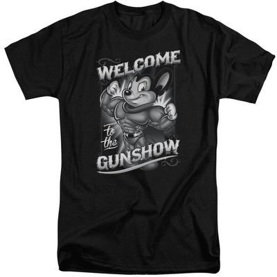 Mighty Mouse Mighty Gunshow Men's Tall Fit T-Shirt