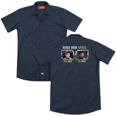 St Original Know Your Spock Adult Work Shirt