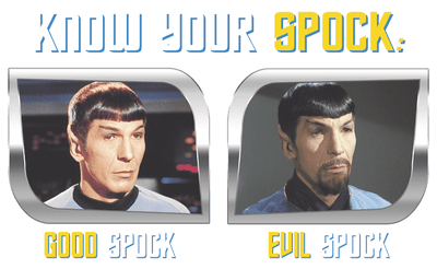 Star Trek Know Your Spock Kid's T-Shirt (Ages 4-7)