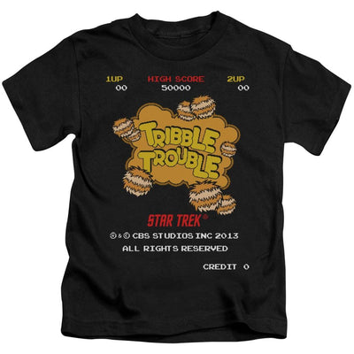 Star Trek Tribble Trouble Kid's T-Shirt (Ages 4-7)