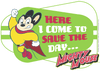 Mighty Mouse Here I Come Kid's T-Shirt (Ages 4-7)