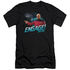 Star Trek Engage Premium Adult Slim Fit T-Shirt