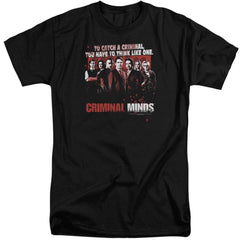 Criminal Minds Think Like One Adult Tri-Blend T-Shirt