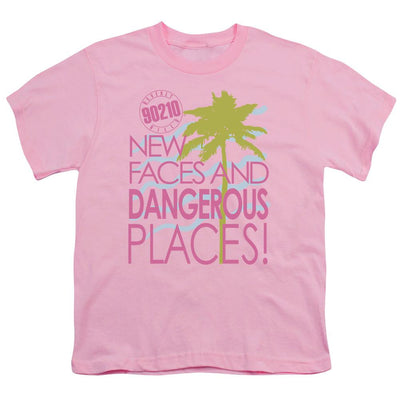 Beverly Hills 90210 Tagline Youth T-Shirt (Ages 8-12)