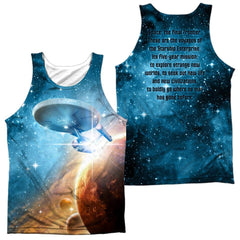 Star Trek Final Frontier Adult Tank Top
