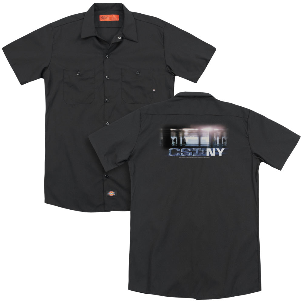 Csi New York Subway Adult Work Shirt
