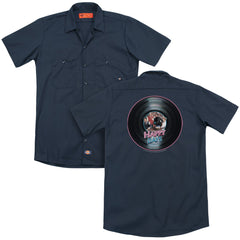 Happy Days On The Record Adult Work Shirt