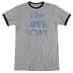 Love Boat - Distressed Adult Ringer T- Shirt