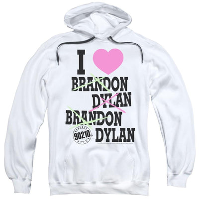Beverly Hills 90210 I Heart 90210 Pullover Hoodie