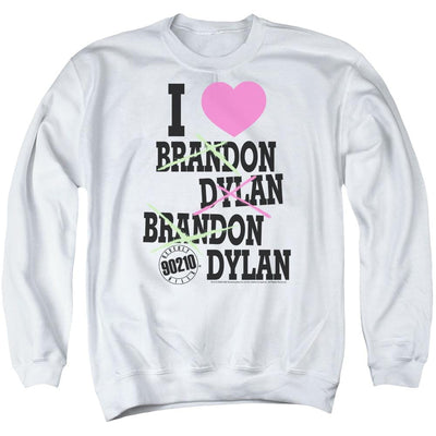 Beverly Hills 90210 I Heart 90210 Men's Crewneck Sweatshirt