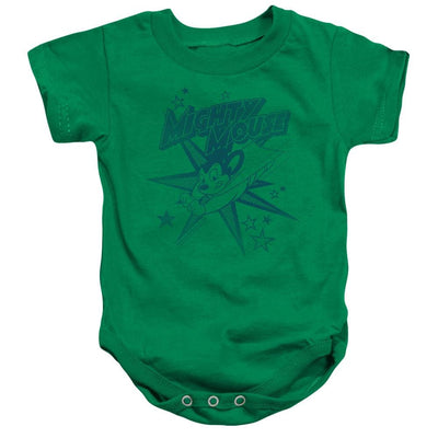 Mighty Mouse Mighty Mouse Baby Bodysuit