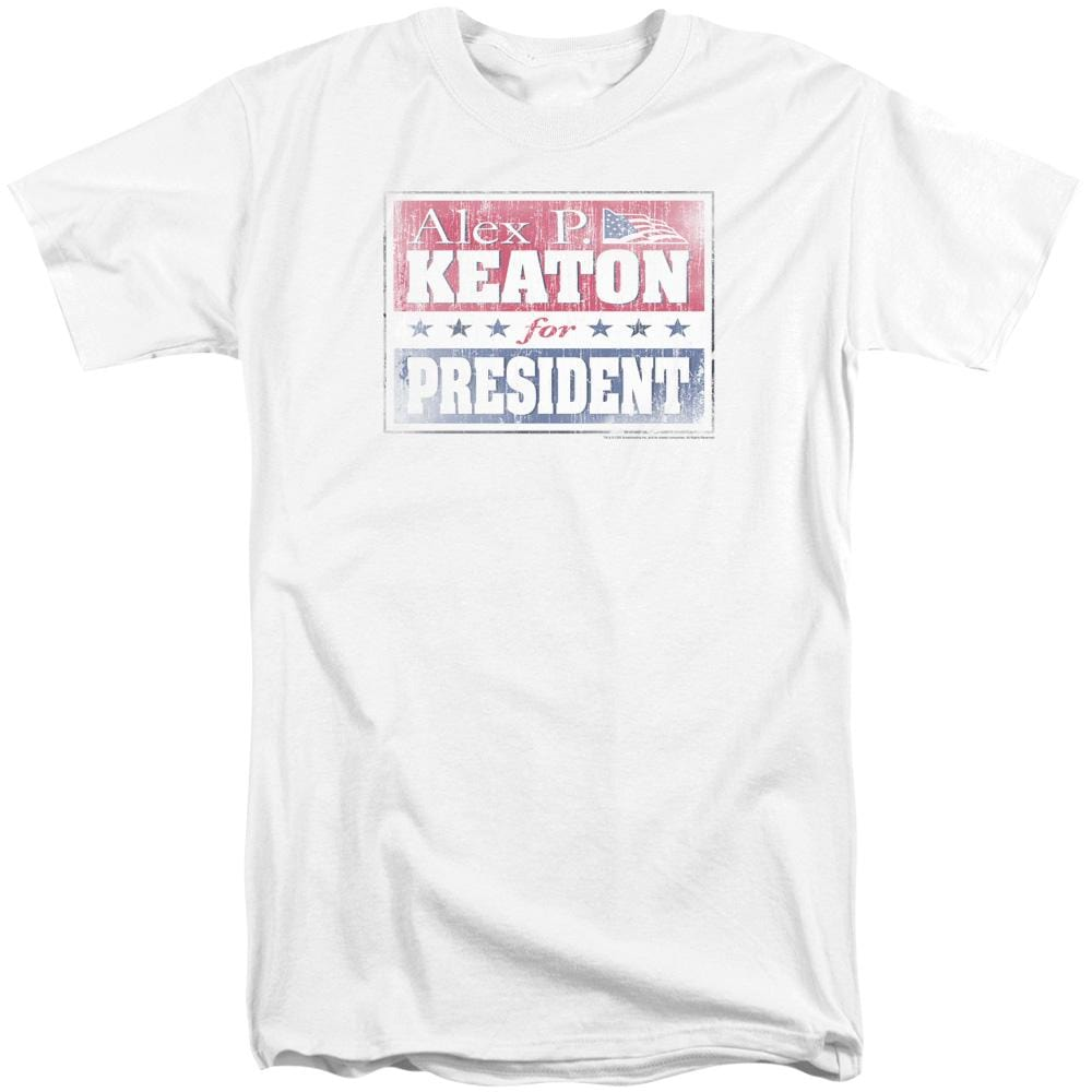 Family Ties - Alex For President Adult Tall Fit T-Shirt