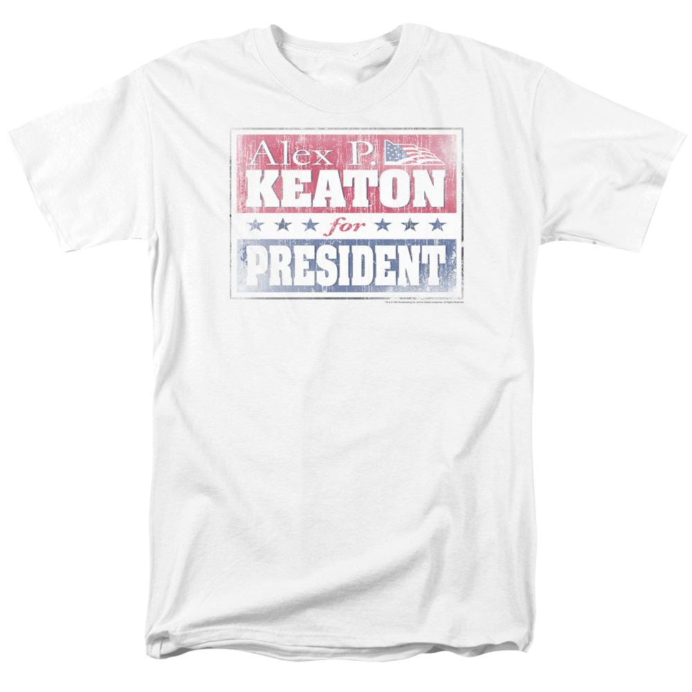 Family Ties - Alex For President Adult Regular Fit T-Shirt