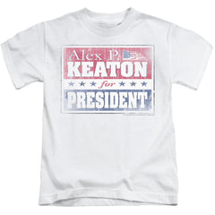 Family Ties - Alex For President Kids T-Shirt