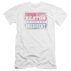 Family Ties Alex For President Premium Adult Slim Fit T-Shirt