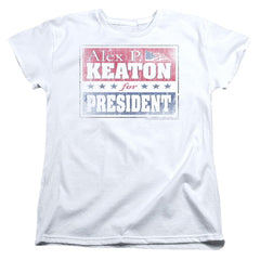 Family Ties - Alex For President Women's T-Shirt
