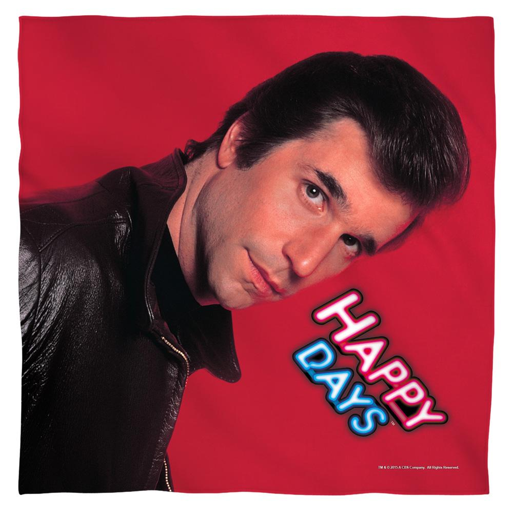 Happy Days - Red Fonz Bandana