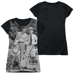 Andy Griffith - Lawmen Junior All Over Print 100% Poly T-Shirt