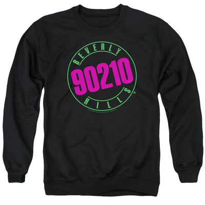 Beverly Hills 90210 Neon Men's Crewneck Sweatshirt