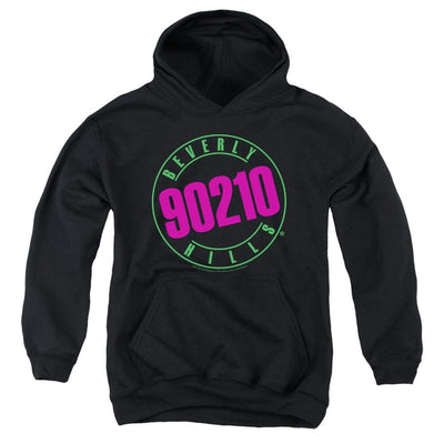 Beverly Hills 90210 Neon Youth Hoodie (Ages 8-12)